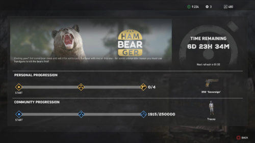 Image of the Hambearger Live Event progression - Far Cry 5 Live Event Guides