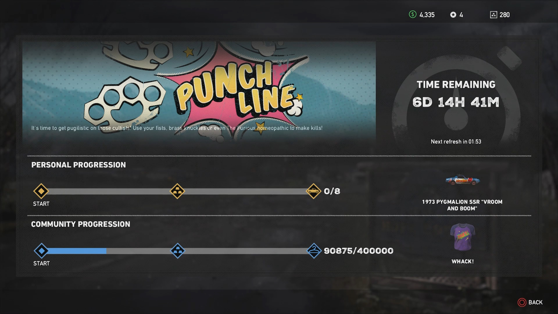 Punch Line Live Event Guide Far Cry 5