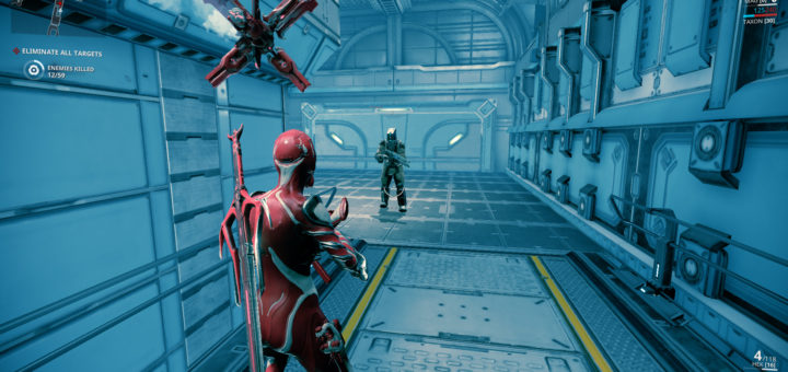 Screenshot of MAG in our how to get MAG Warframe guide.