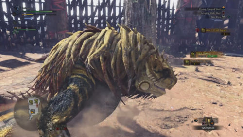 Screenshot of the large Great Jagras.