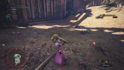 Screenshot of the Small Great Jagras.