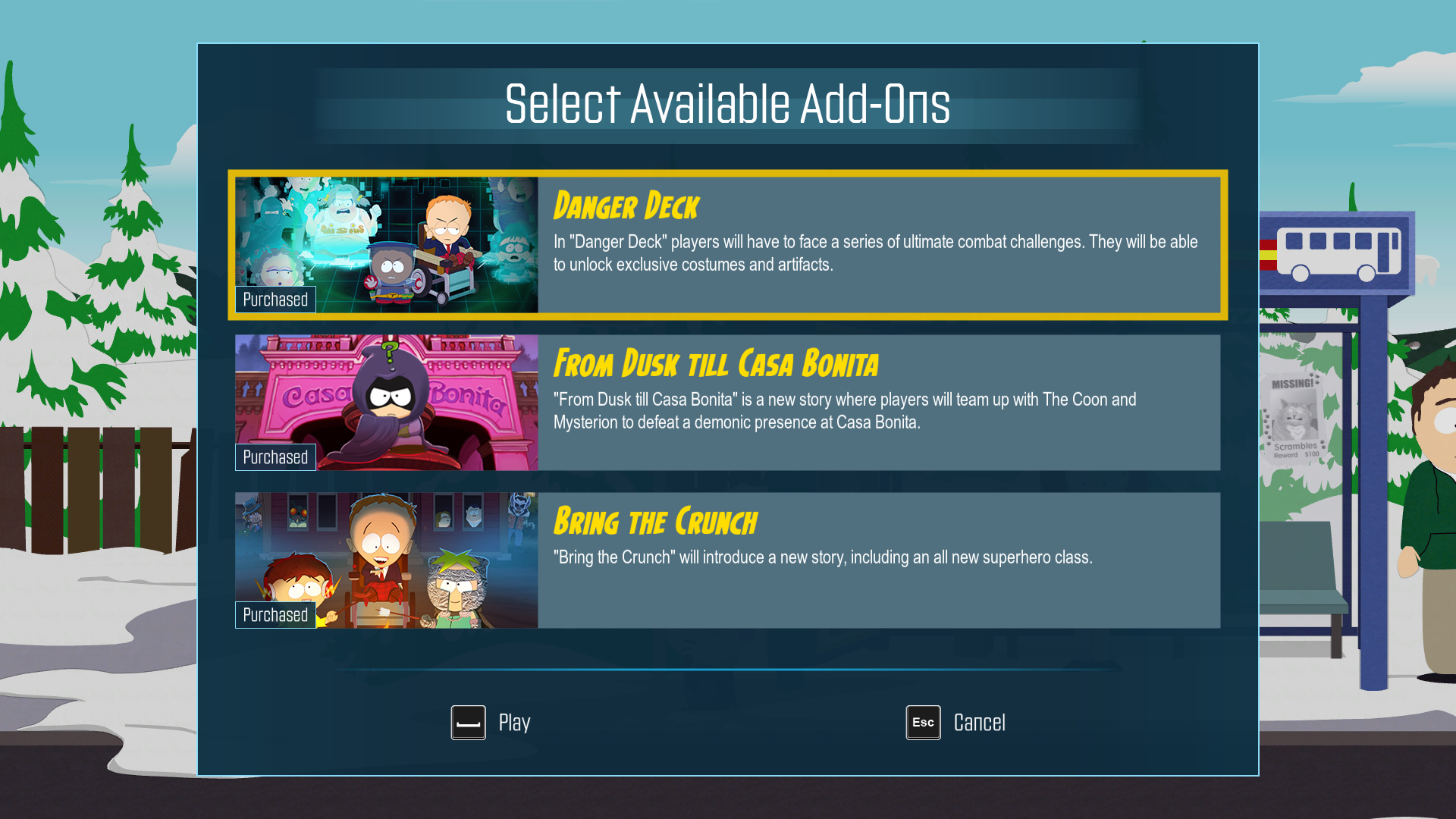 Bring The Crunch Guide - South Park The Fractured But Whole