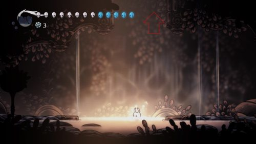 Godmaster Hollow Knight Pantheon of Hallownest entrance location.