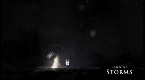 Screenshot of the Land of Storms.