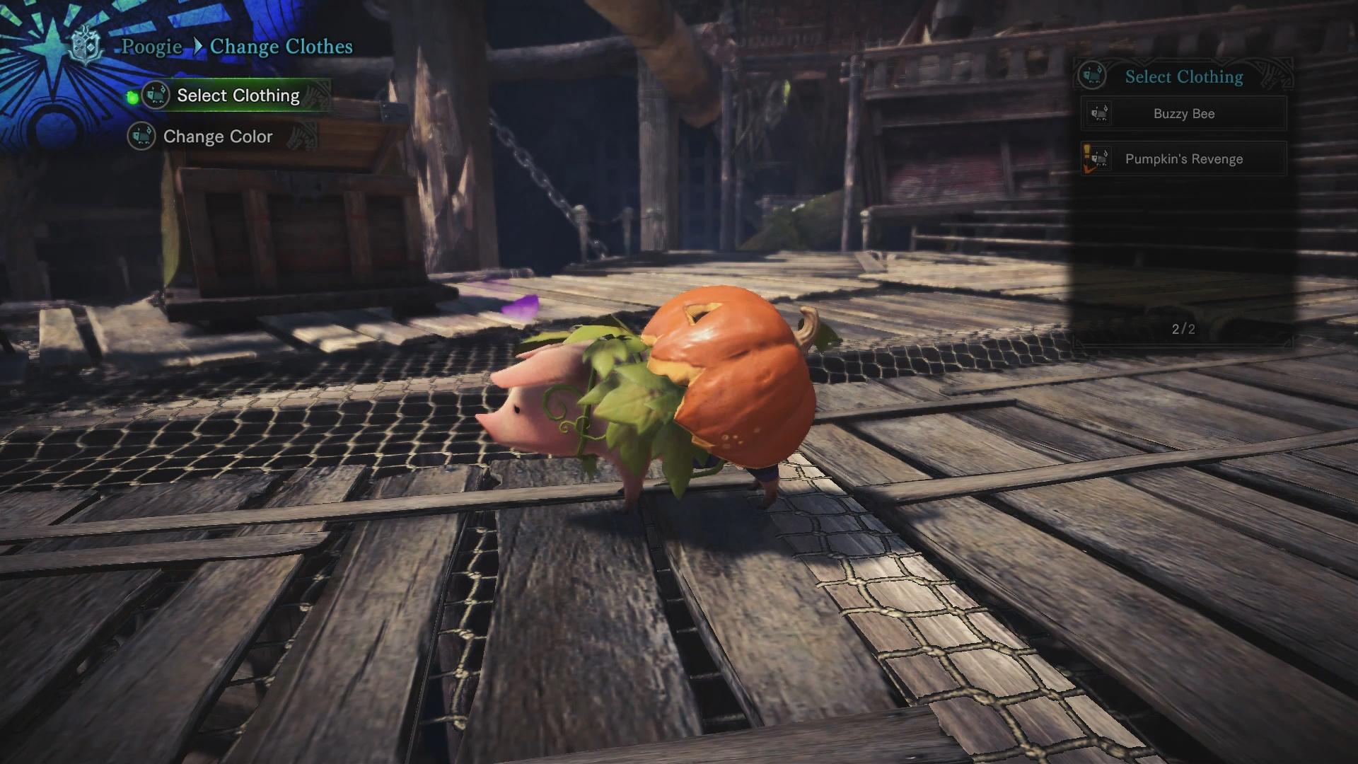 Everything in the Autumn Harvest Fest - Monster Hunter World