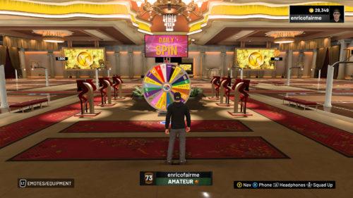 Daily Prize Wheel NBA 2K19