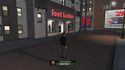FootLocker NBA 2K19 location