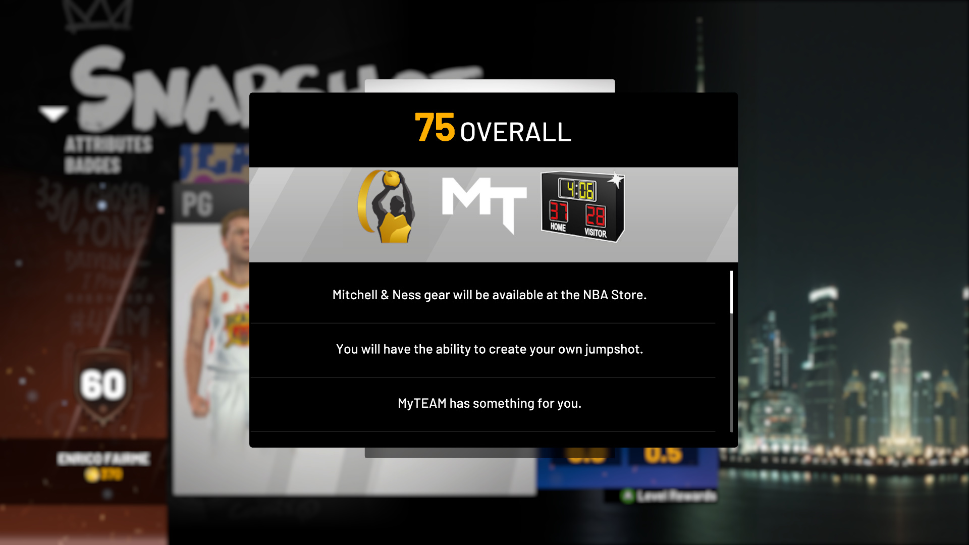NBA 2K19 MyPLAYER Level Unlocks - What you Get at Each Level