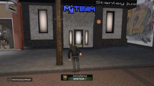 MyTEAM Building NBA 2K19 location