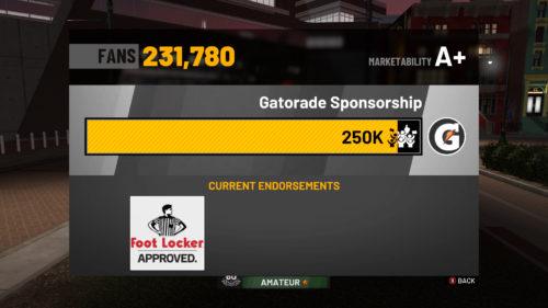 NBA 2K19 Endorsement Deals