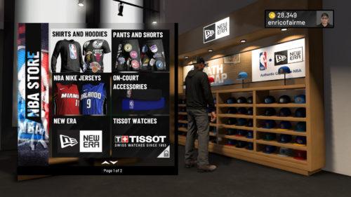 NBA Store NBA 2K19
