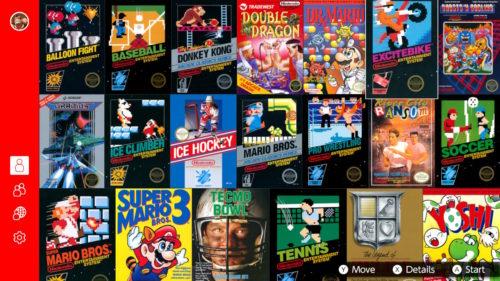 Nintendo Switch Online NES Launch Titles