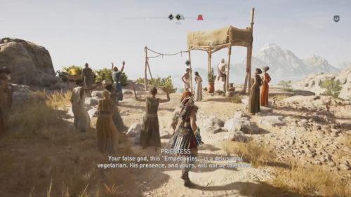 A God Among Men Mission Start