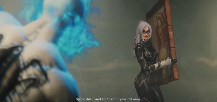 Black Cat Spider-Man PS4