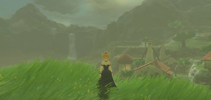 A modder has added Bowsette to BOTW.