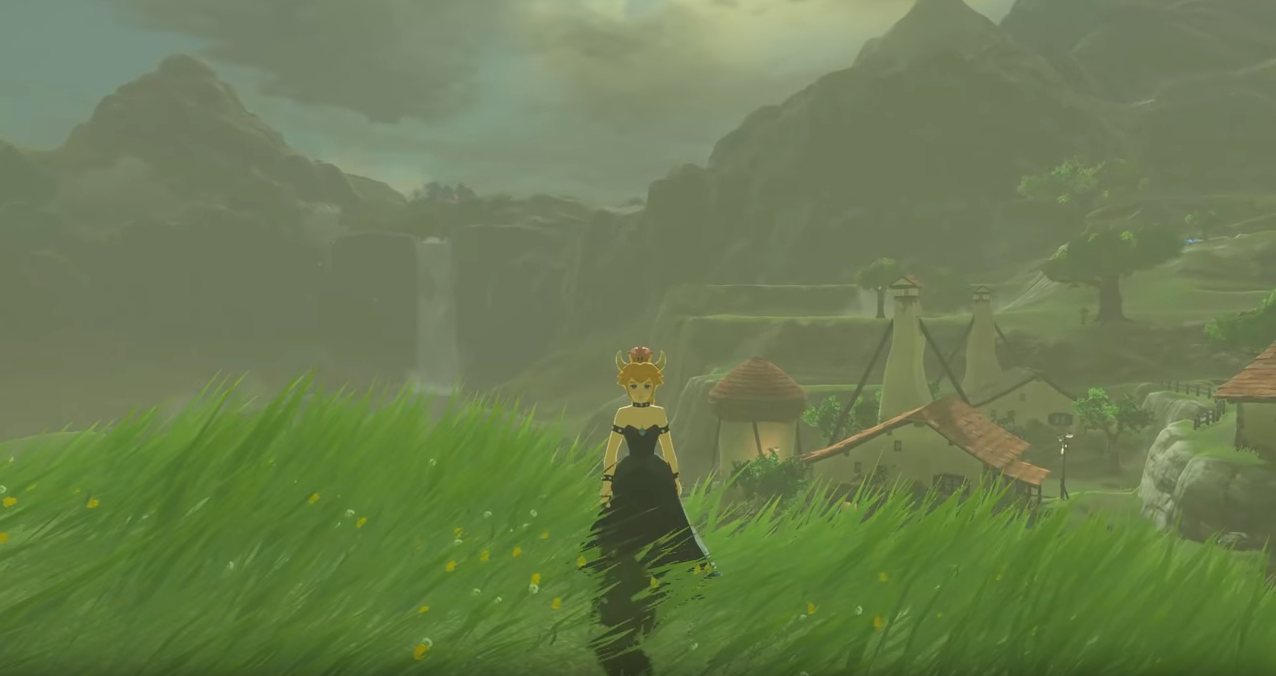 Modder Adds Bowsette to BOTW, Because Why Not?