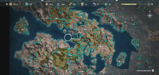 Collectible Locations in Assassin's Creed Odyssey