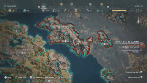 Euboea and Skyros Collectibles Locations