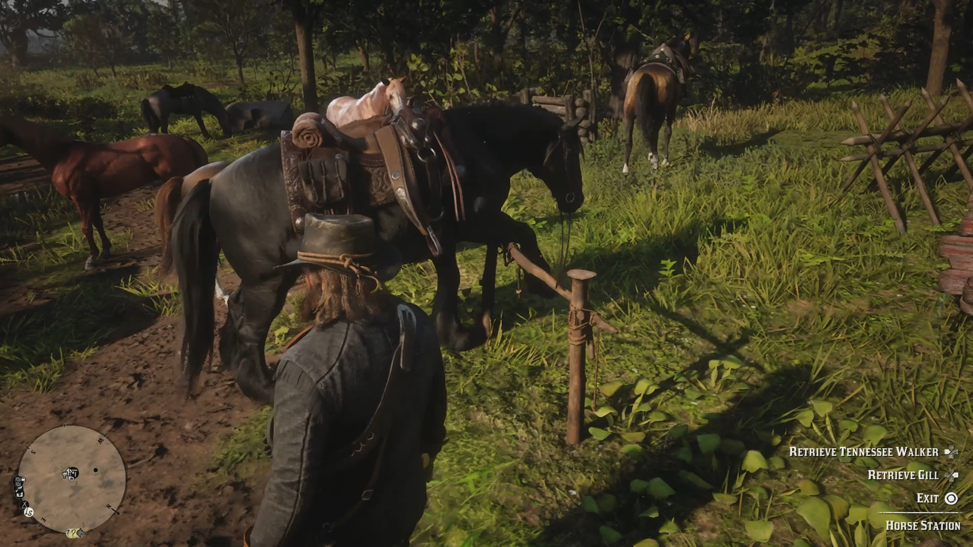 How to change Horses in Red Dead Redemption 2