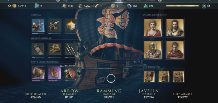 How to Customize Your Ship in Assassin's Creed Odyssey