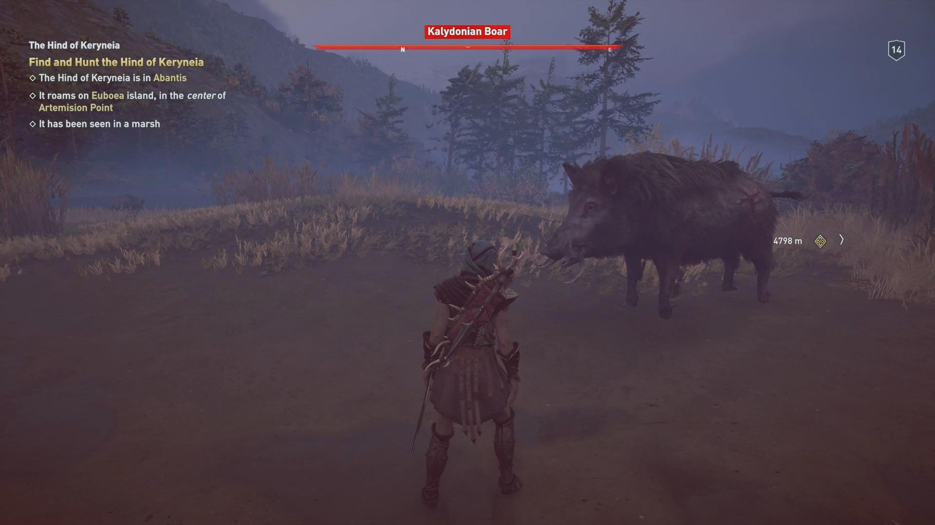 erymanthian boar odyssey