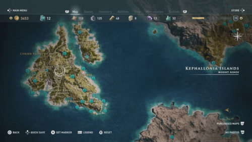 Kephallonia Islands Orichalcum Fragment and Ancient Knowledge locations
