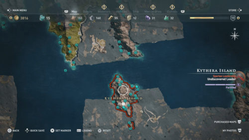Kythera Island Collectibles Locations
