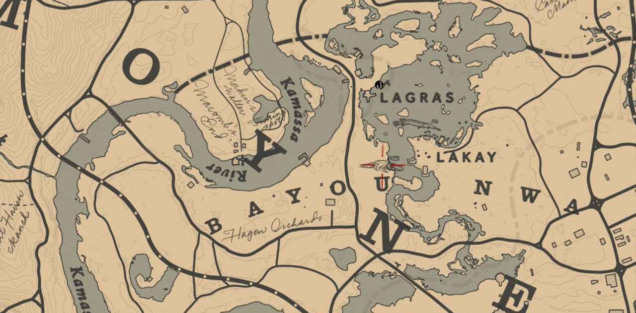 legendary animal locations red dead
