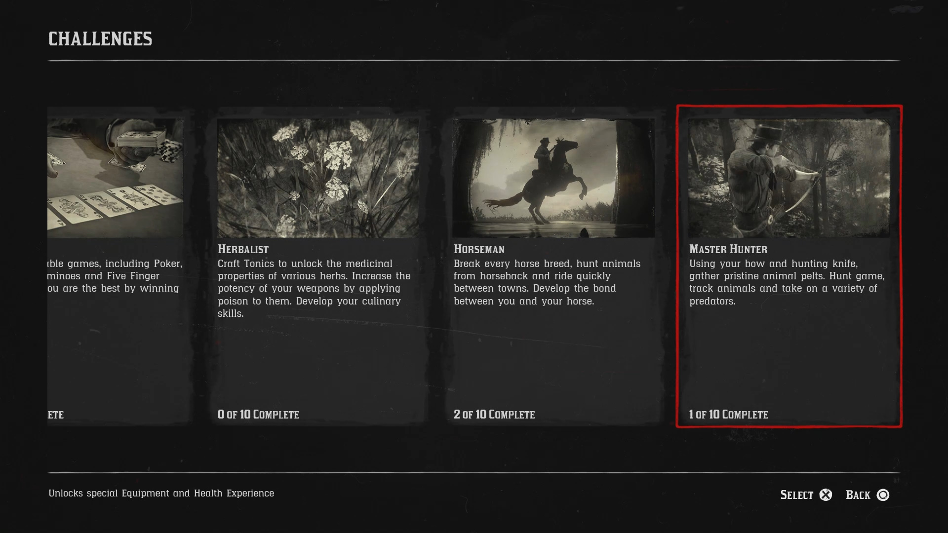All Challenges in Red Dead Redemption 2