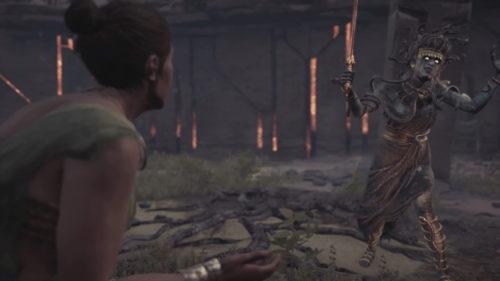 Medusa in Assassin's Creed Odyssey