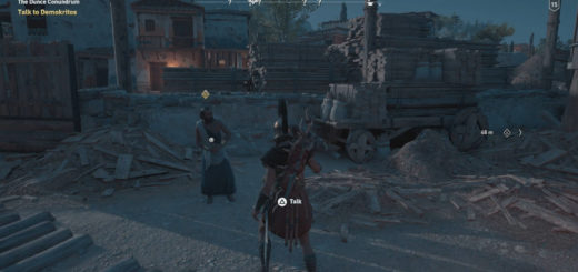The Secrets of Greece Guide Mission Demokritos Location Assassin's Creed Odyssey