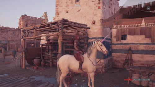 Unicorn Phobos Skin Assassin's Creed Odyssey