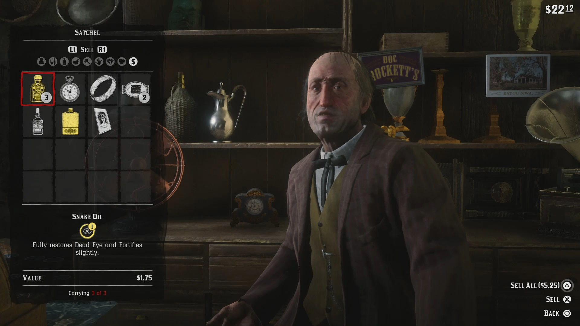 Where to Sell Items in Red Dead Online