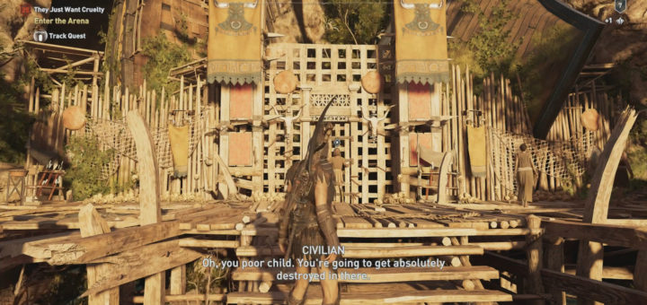 How to Get to The Arena in Assassin's Creed Odyssey