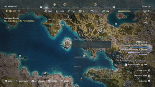 Where to Find the Cyclops in Assassin's Creed Odyssey