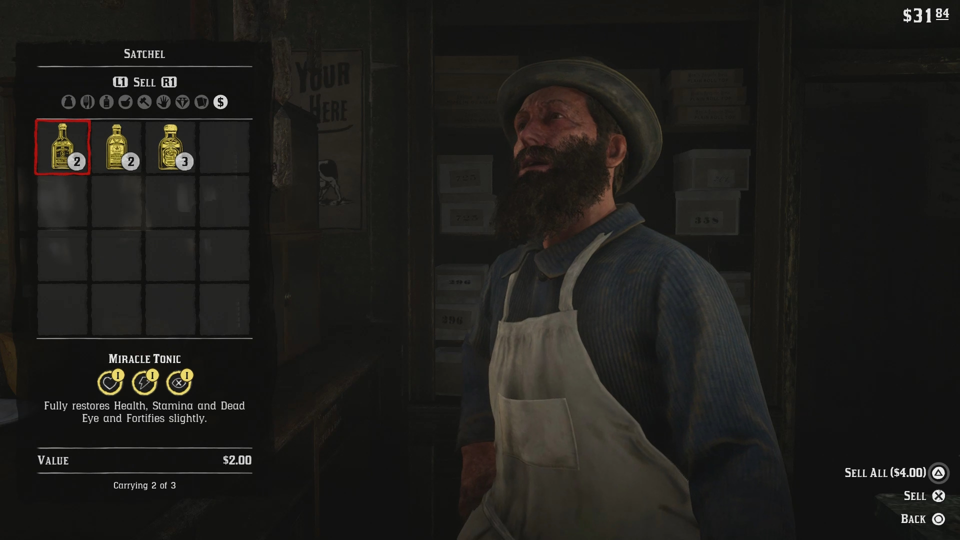 Where To Sell Items In Red Dead Redemption 2