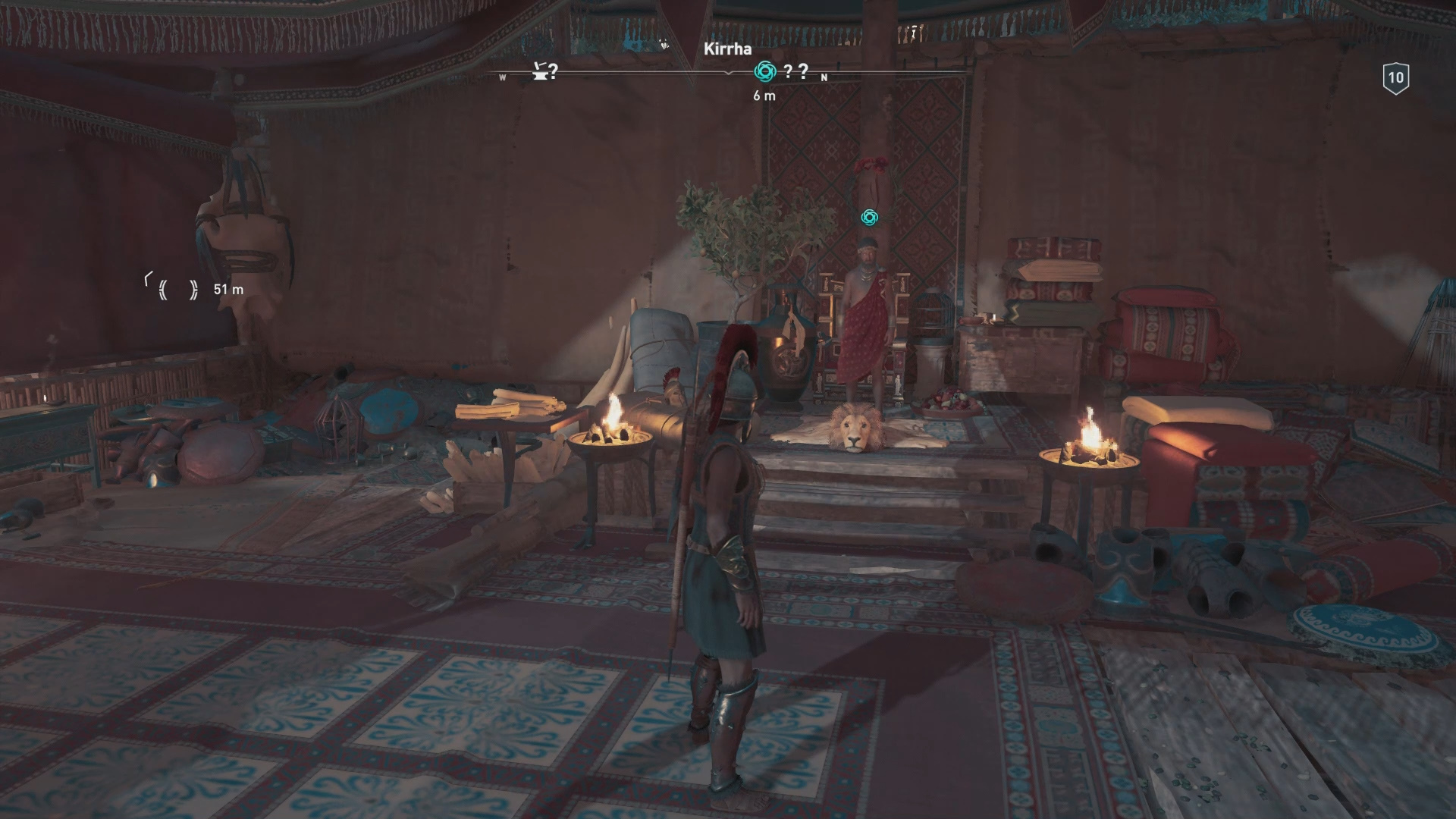 Special Vendor Oikos of the Olympians in Assassin's Creed Odyssey