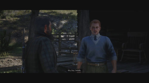Francis Sinclair in Red Dead Redemption 2