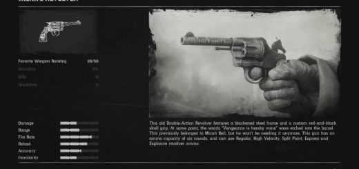How to Get Micah's Revolver in Red Dead Redemption 2