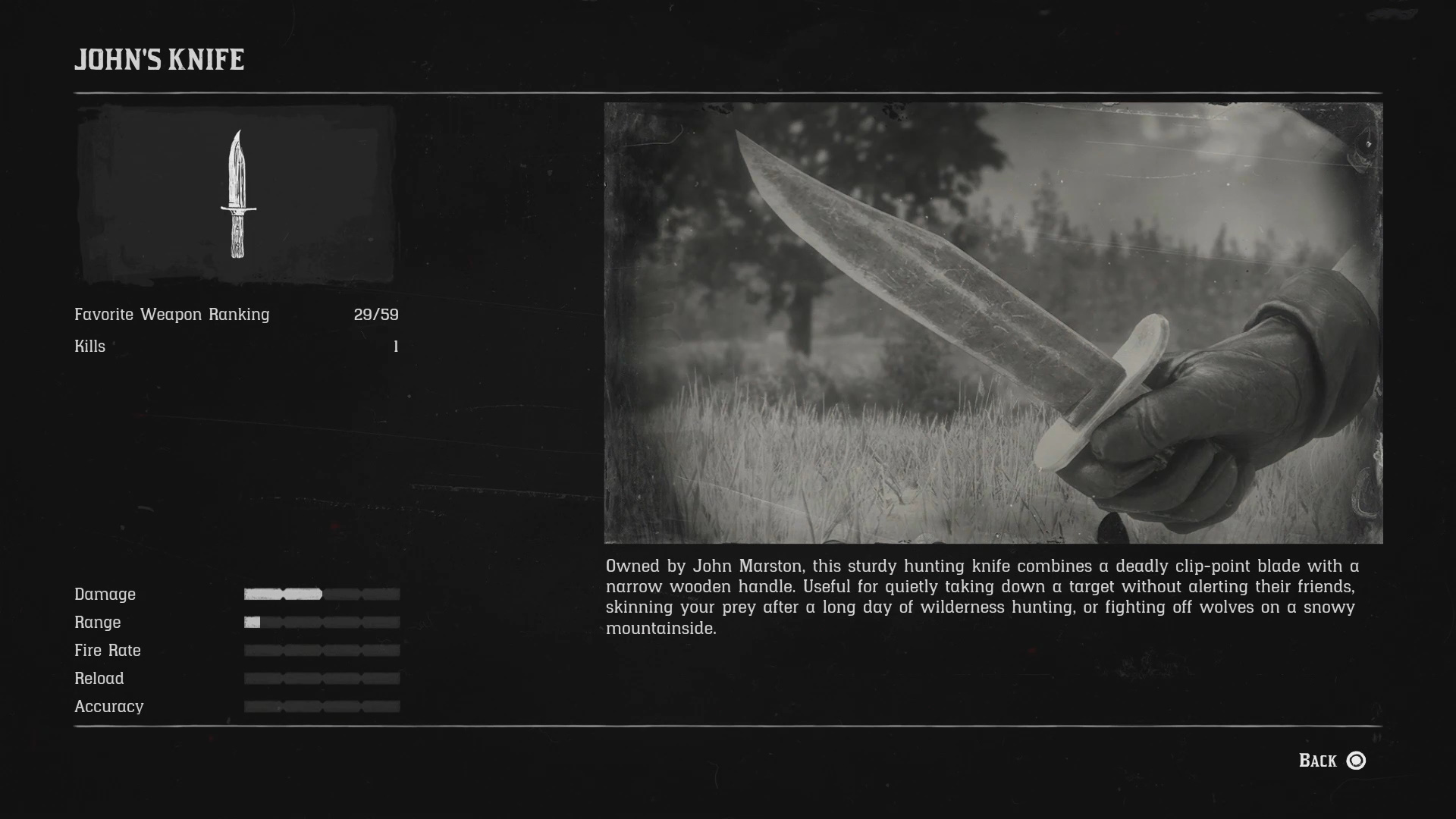 All Unique Weapons in Red Dead Redemption 2