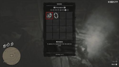 Meteorite in Red Dead Redemption 2