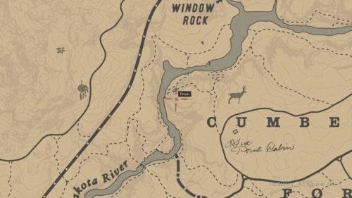 Rock Carving 5 Location - West of Cumberland on Mountain along Dakota River