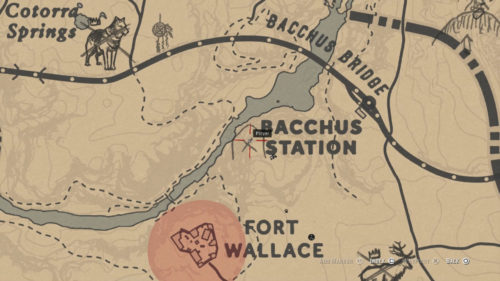 Rock Carving 7 Location - Top of Mountain West of Bacchus Station