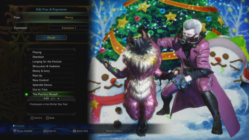 The Purrfect Reveal! Pose in Monster Hunter World
