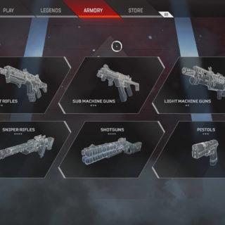 Apex Legends Weapons