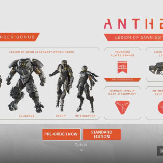 How to Access DLC Items in Anthem