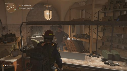 Where to Sell Items in The Division 2