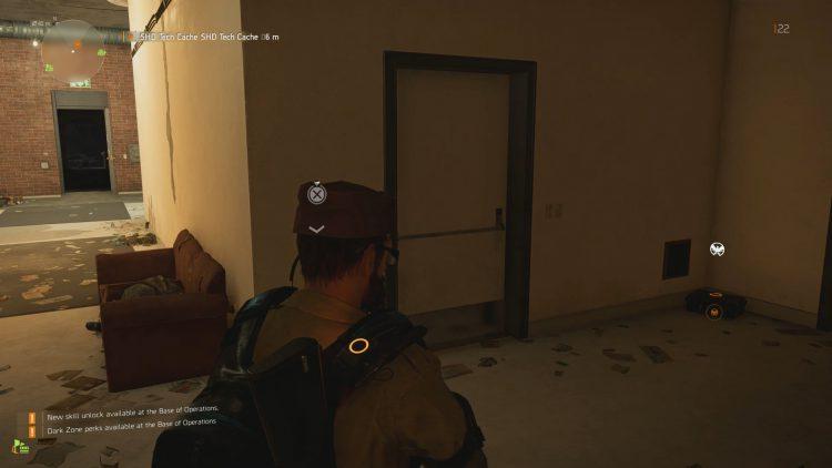 In Hallway of Building