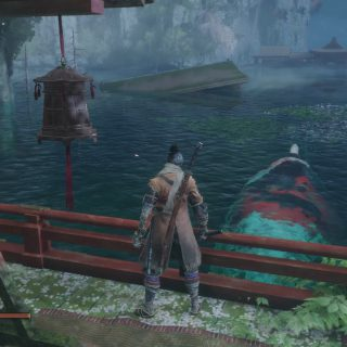 Where to Find the Great Colored Carp in Sekiro Shadows Die Twice