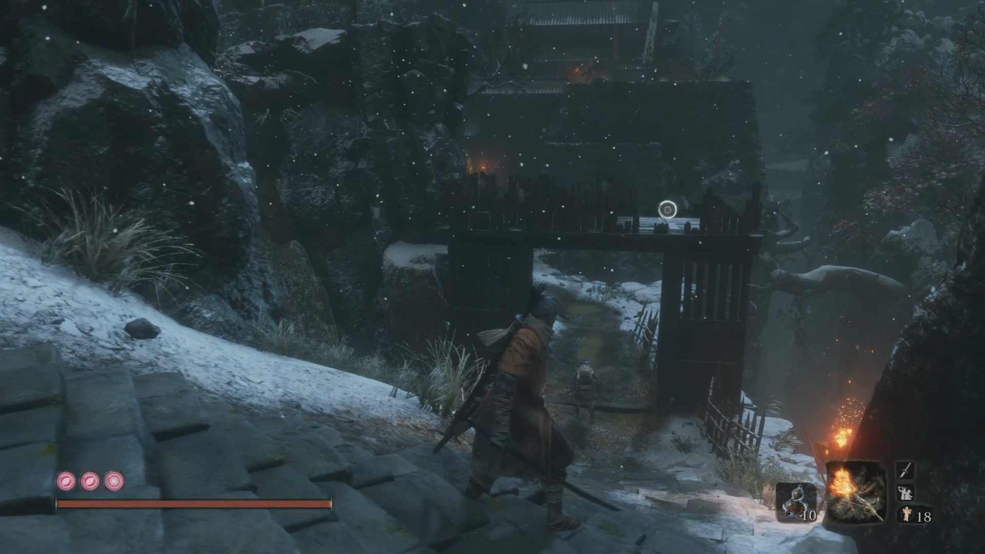 Crow's Bed Memorial Merchant Location - Ashina Outskirts